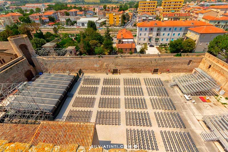 Arena Beniamino Gigli vista alto
