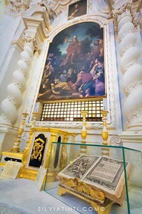 Montecassiano - Chiesa San Giovanni Battista - oggetti liturgici e decorazioni