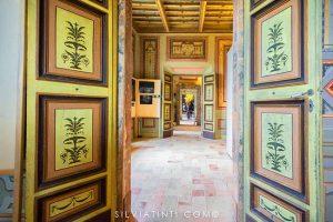 Montecassiano - Palazzo Compagnucci - Piano Nobile con i salottini riaffrescati nell'Ottocento
