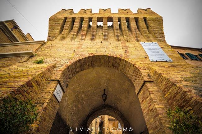 Montecassiano - Porta d'ingresso al centro storico