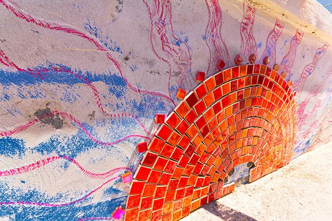 Mosaici a Marotta