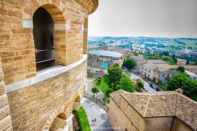 vista dai Camminamenti di Ronda della Basilica di Loreto